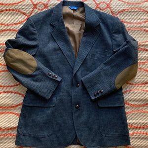 Pendleton TWEED Blazer Sport Coat 44R Action Back